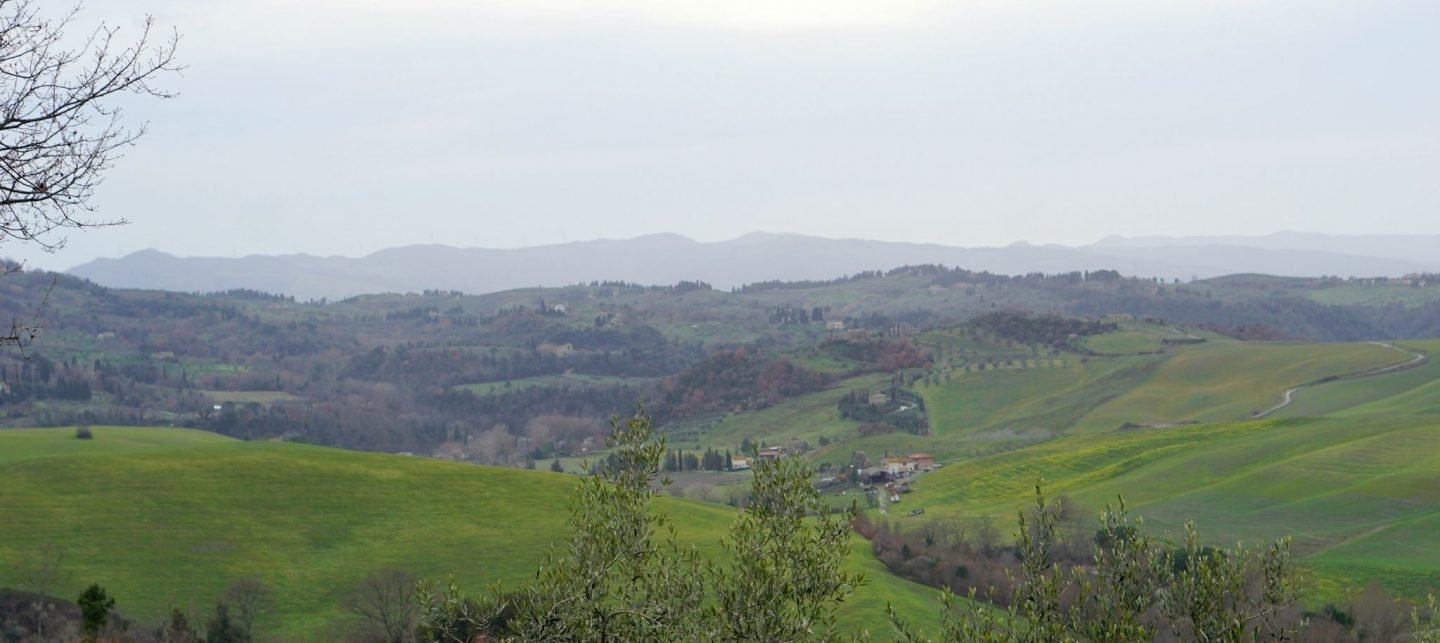 The views from Country Relais & Spa Le Capanne farmhouse the perfect family holiday location www.extraordinarychaos.com