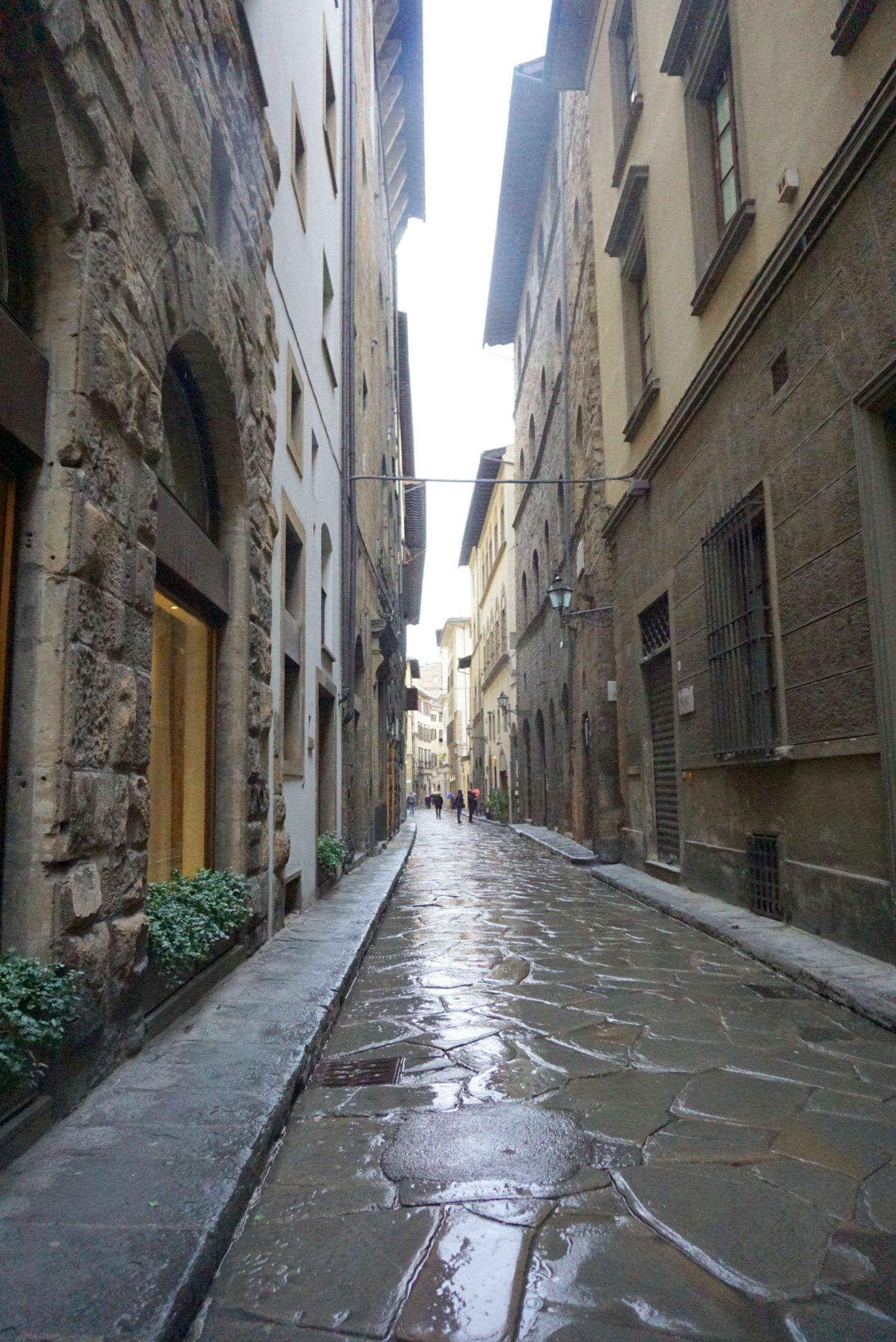 Tuscany Backstreets in the rain www.extraordinarychaos.com