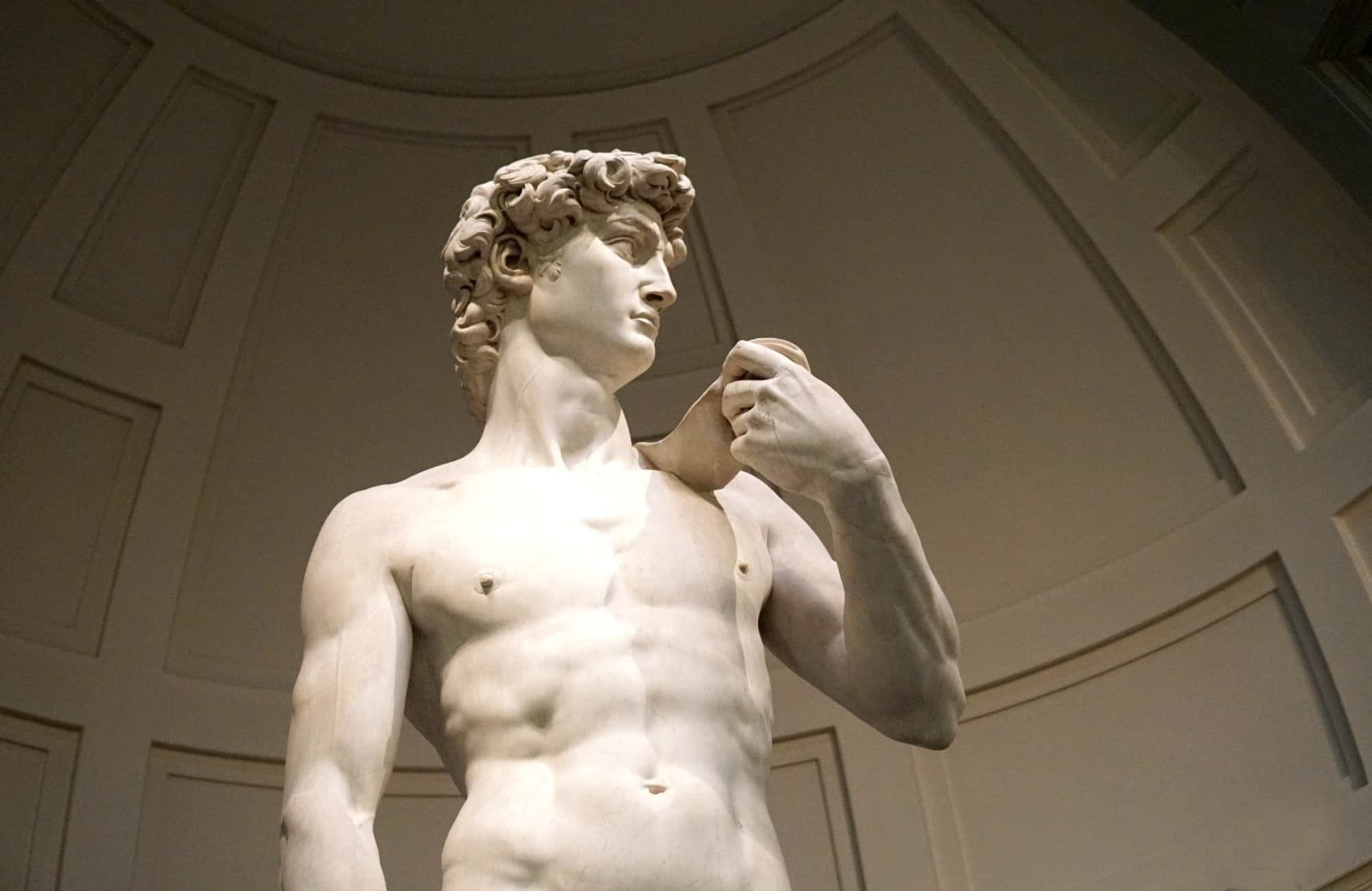 Visiting David in Florence