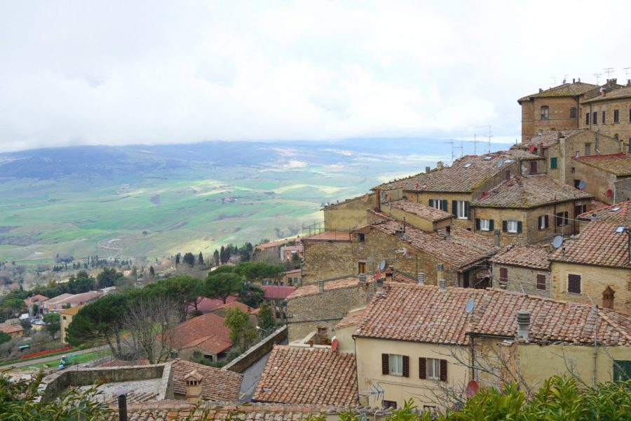 Volterra In Tuscany near the Country Relais & Spa Le Capanne is a 100+ year old farmhouse www.extraordinarychaos.com