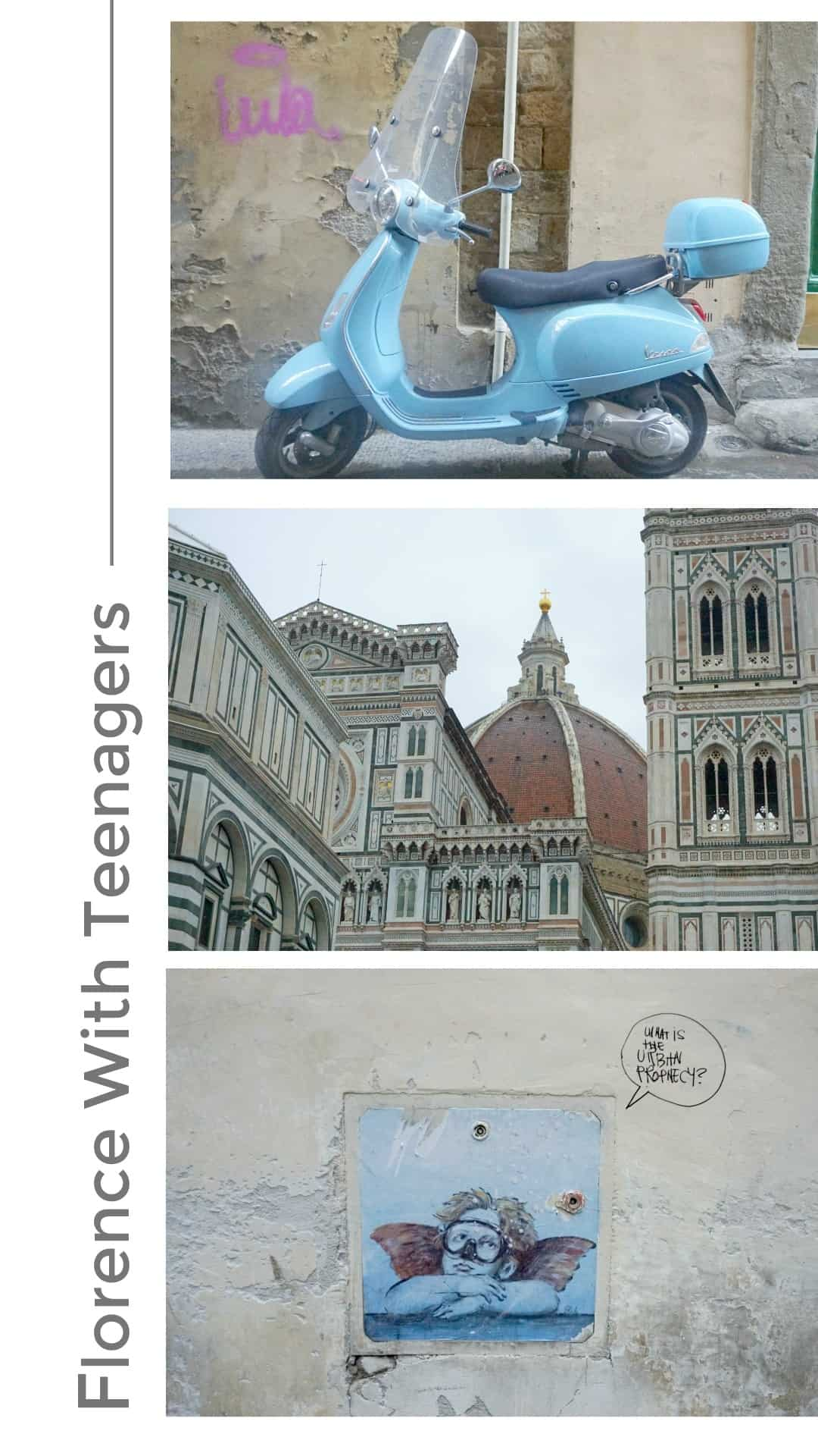 What to do in Florence with kids and teens, where to park and places to visit such as Michelangeo's David and Duomo