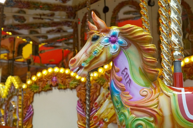 A Carousel horse www.extraordinarychaos.com