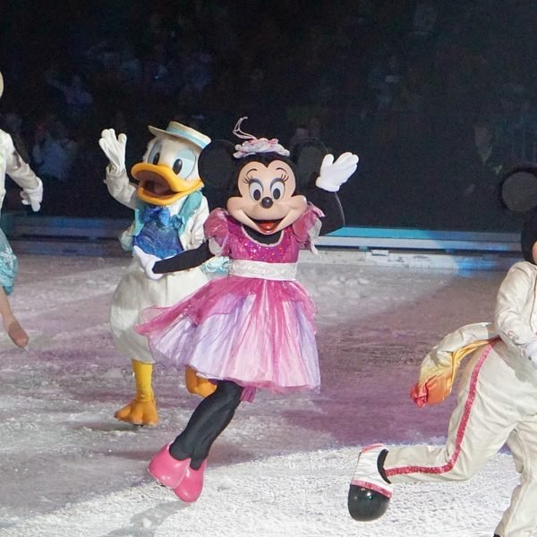 Mickey, Minnie and Goofy on Disney On Ice www.extraordinarychaos.com
