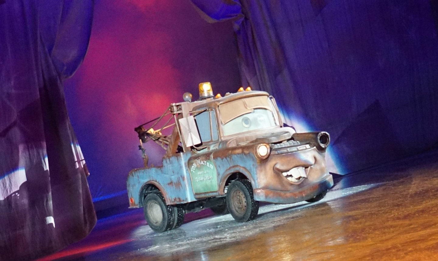 Towmater at Disney on Ice www.extraordinarychaos.com
