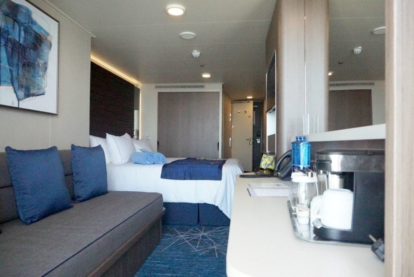 view of a jnr suite onboard NCL Bliss