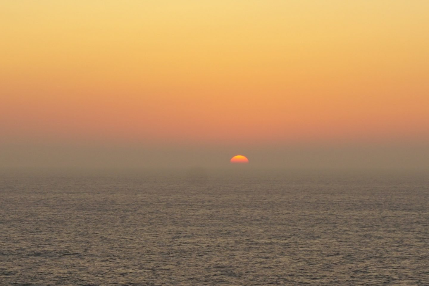 Sunset from the Celebrity Silhouette