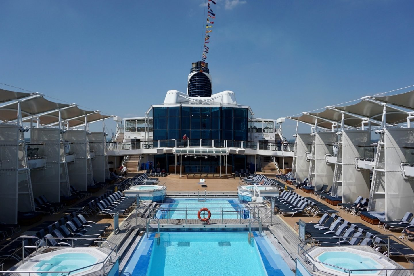 The Pool Deck on Celebrity Silhouette ww.extraordinarychaos.com