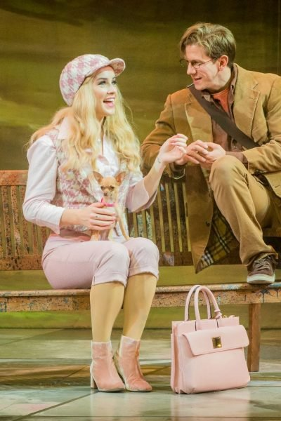 Legally Blonde Lucie Jones, David Barrett Photo Robert Workman
