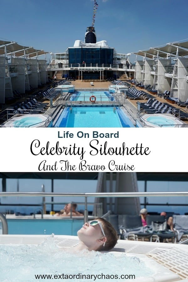 Life On Board Celebrity Silhouette www.extraordinarychaos.com