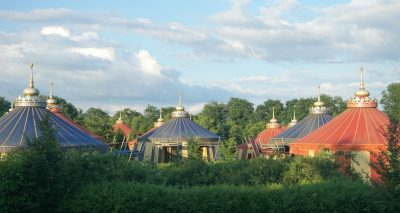 Staying at Le Camp Du Drap D'Or at Puy Du Fou