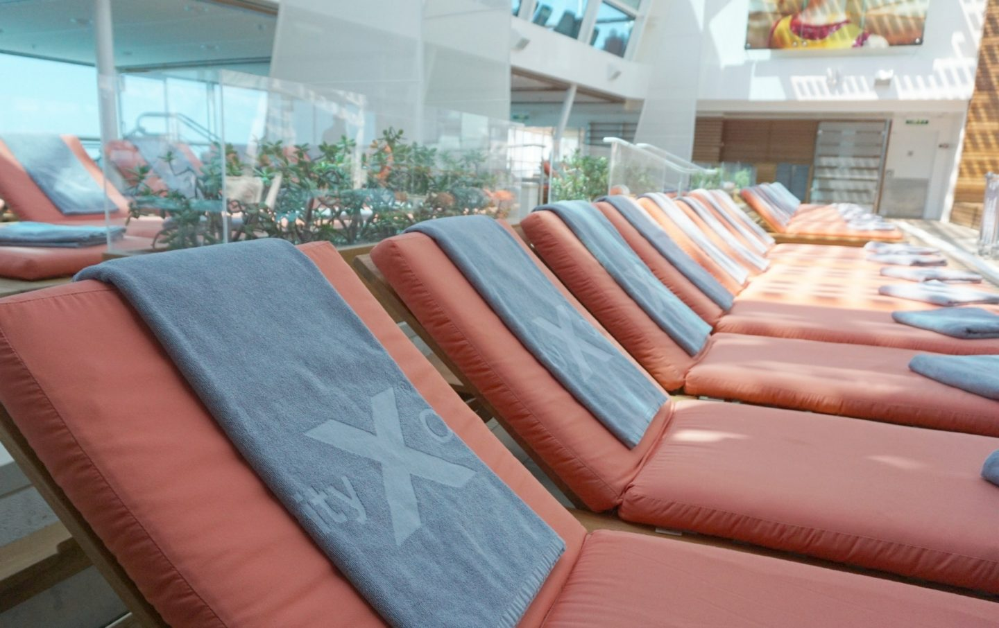 Spa Pool on Celebrity Silhouette