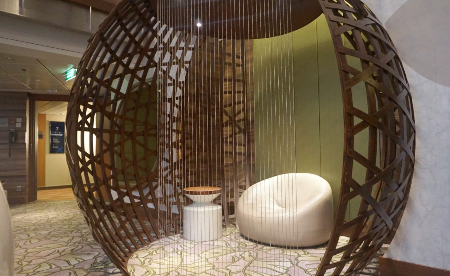 Tree House Pods on Celebrity Silhouette