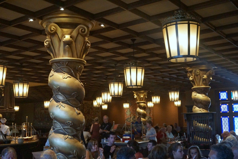 The Restaurant at Le Camp Du Drap D'Or at Puy Du Fou