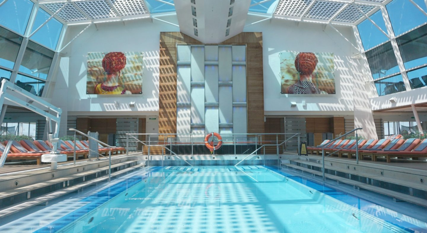 The Spa Pool on Celebrity Silhouette