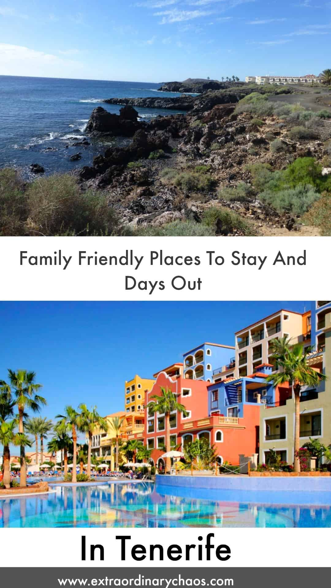 Visiting Tenerife in Spain, check out my guide of family friendly places to visit and stay in Tenerife.