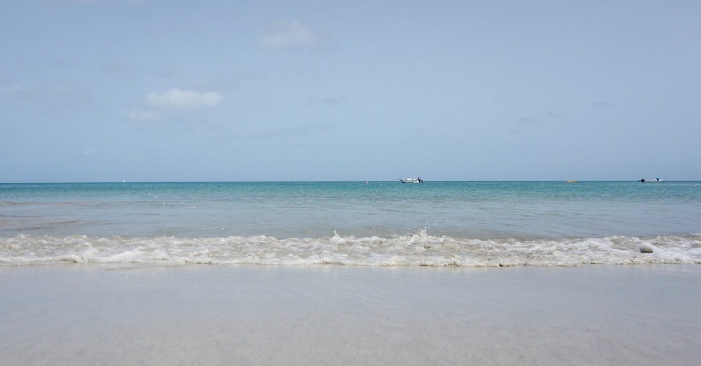 Morning on the beach at St James Bay St Lucia www.extraordinarychaos.com