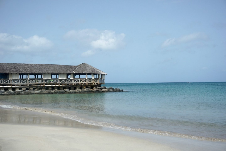The beach a Morgan Bay St Lucia www.extraordinarychaos.com
