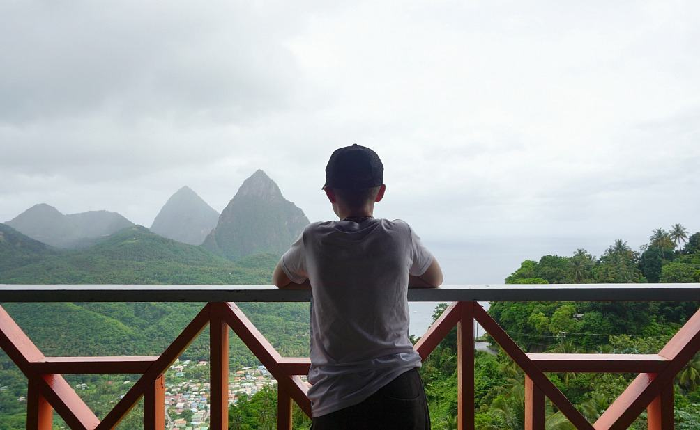 A view of the Pitons www.extraordinarychaos.com