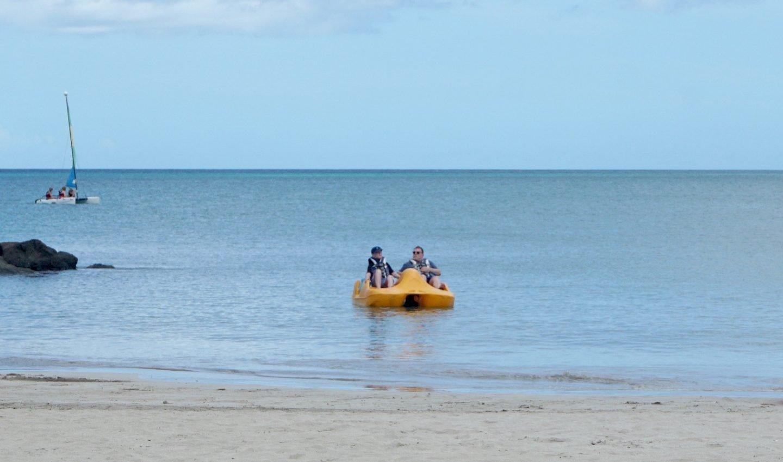 Free water-sports at St James Club www.extraordinarychaos.com