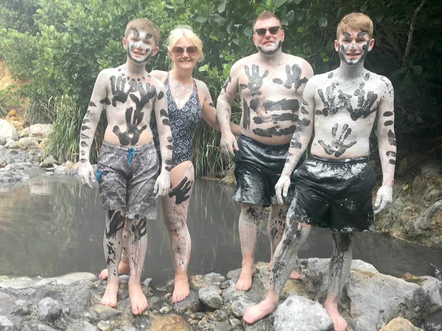 Mud Bath in the Volcano at St Lucia www.extraordinarychaos.com