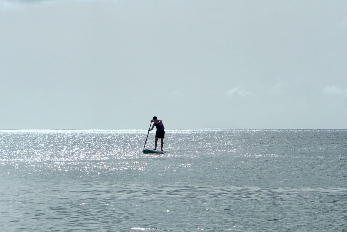 Paddle Boarding In St Lucia