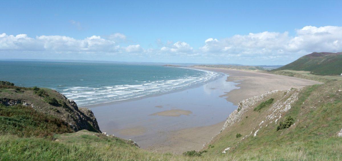 Rhossili Bay Wales www.extraordinarychaos.com