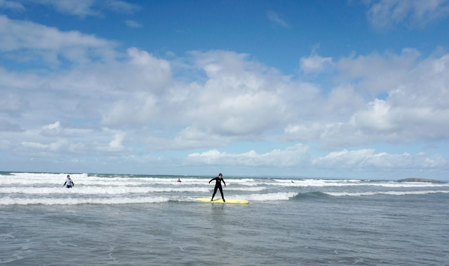 Surfing in Wales www.extraordinarychaos.com