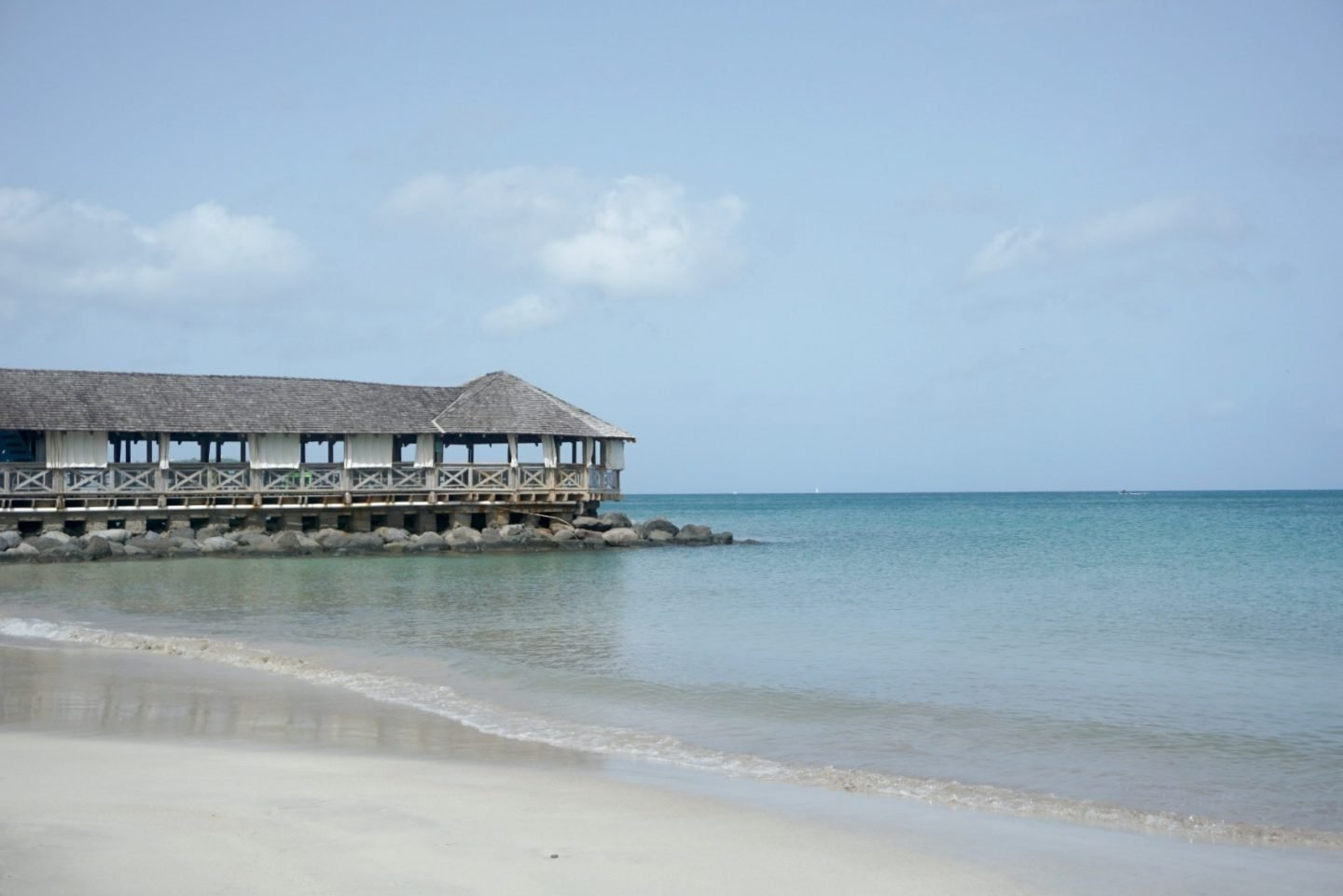 The Pier At St James Club St Lucia