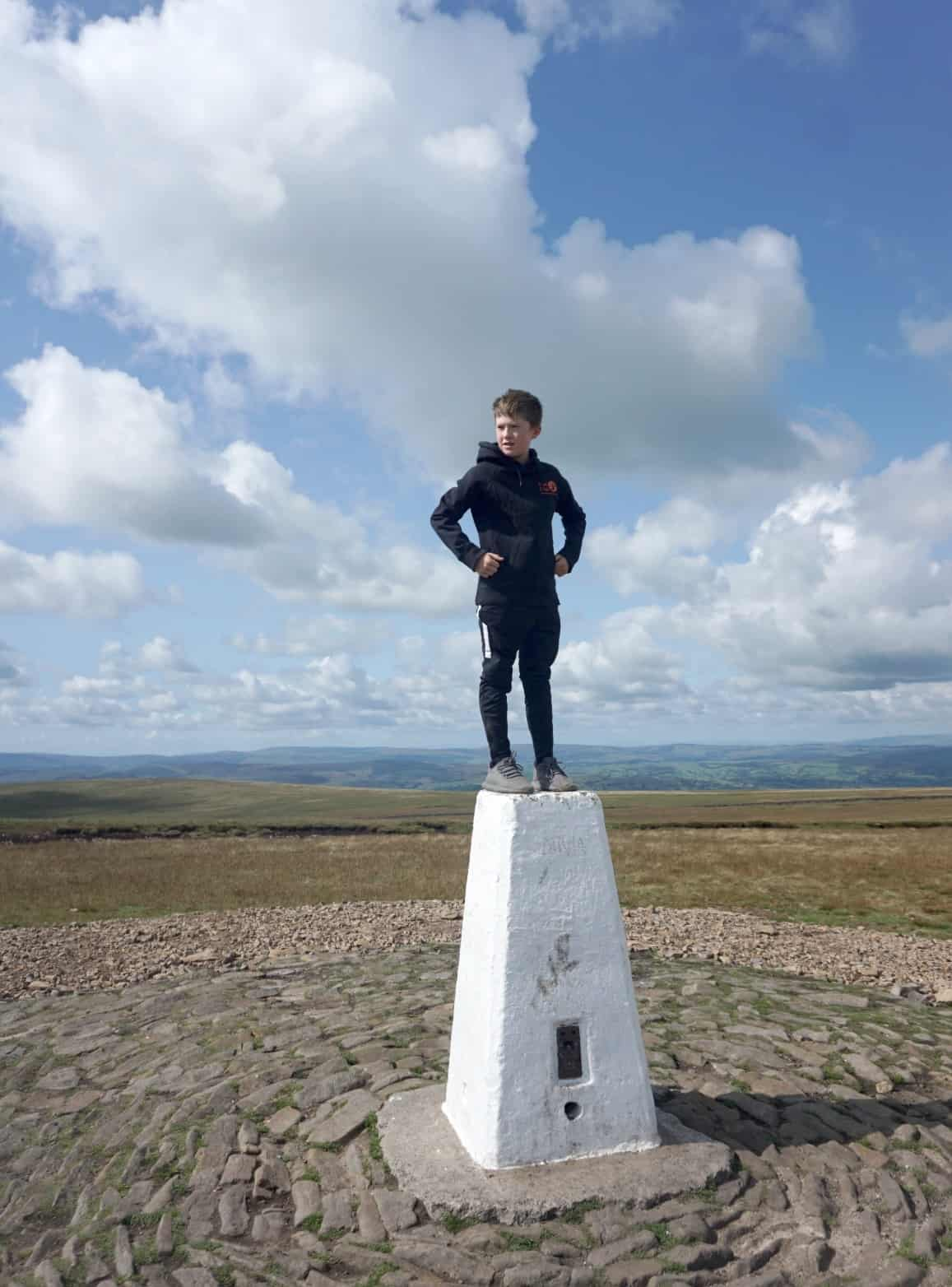 The top of Pendle Hill