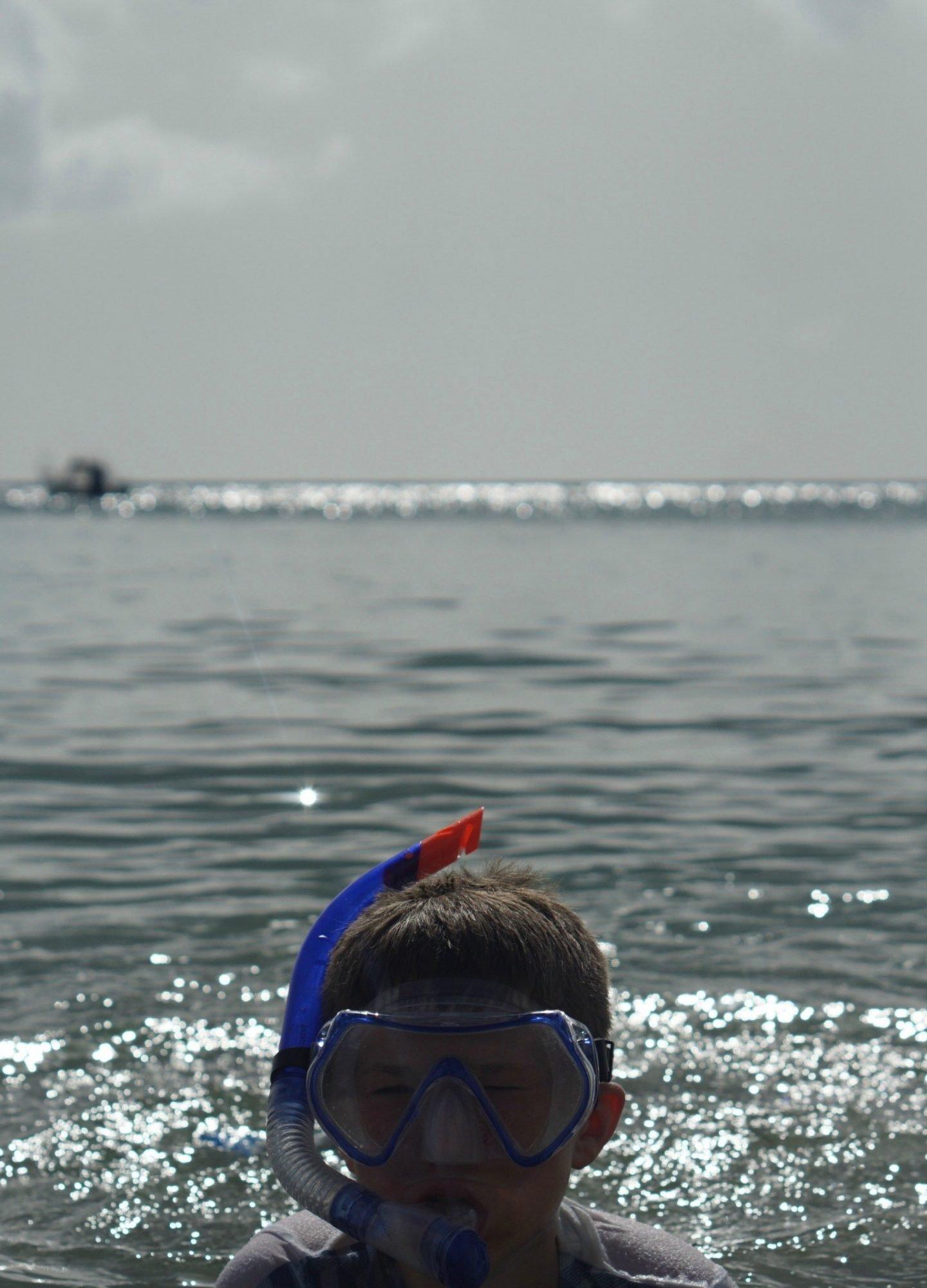 Zoggs Snorkel and mask set www.extraordinarychaos.com