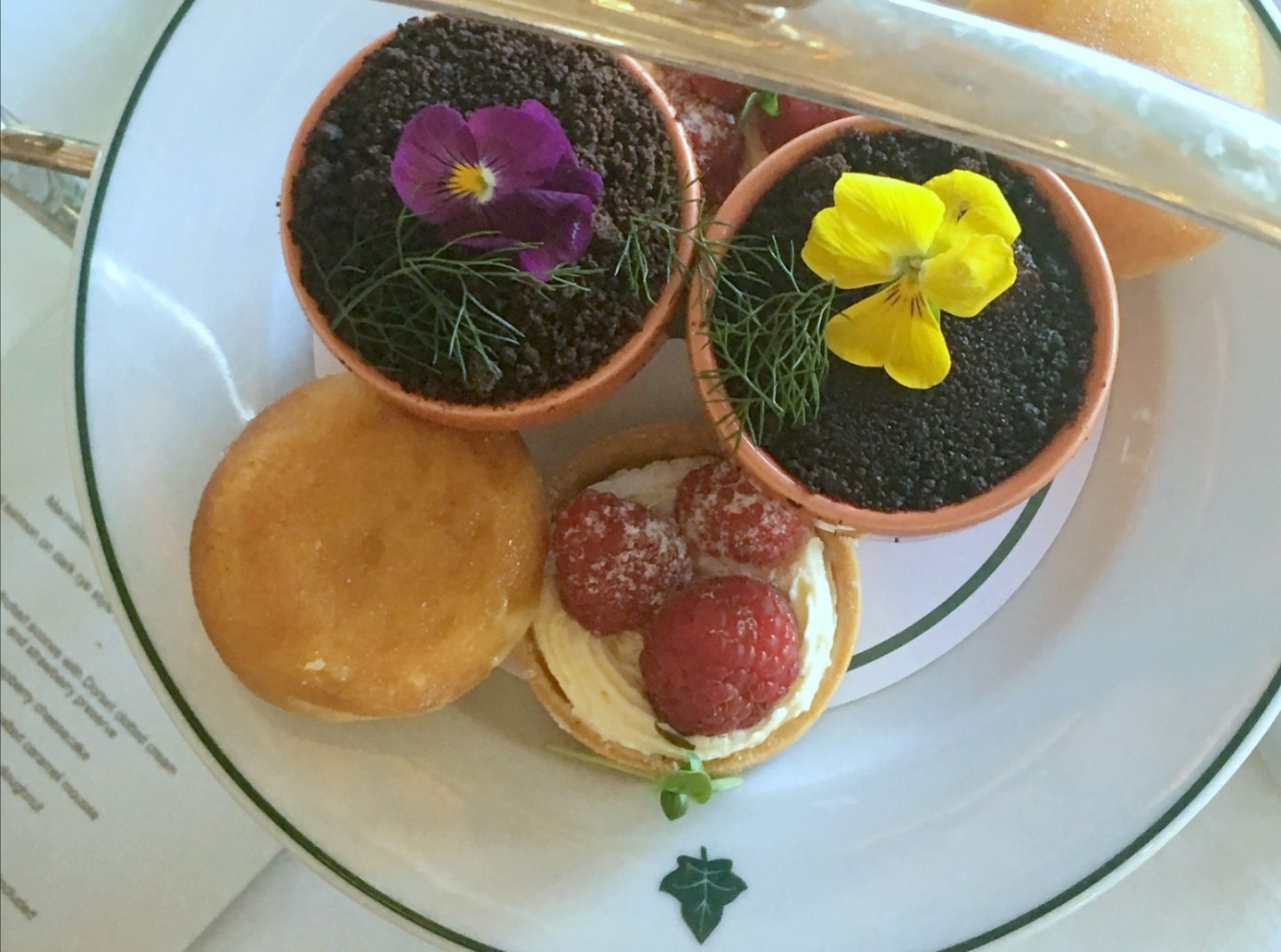 Afternoon tea at the ivy www.extraordinarychaos.com