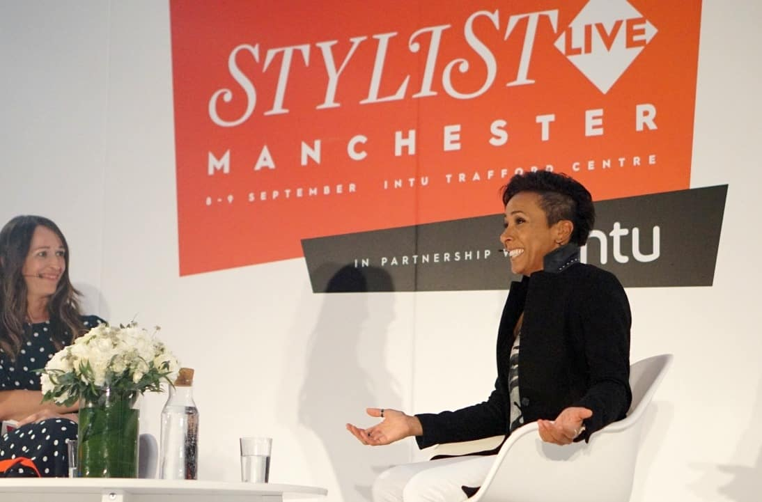 Dame Kelly Holmes at Stylsit Live Manchester