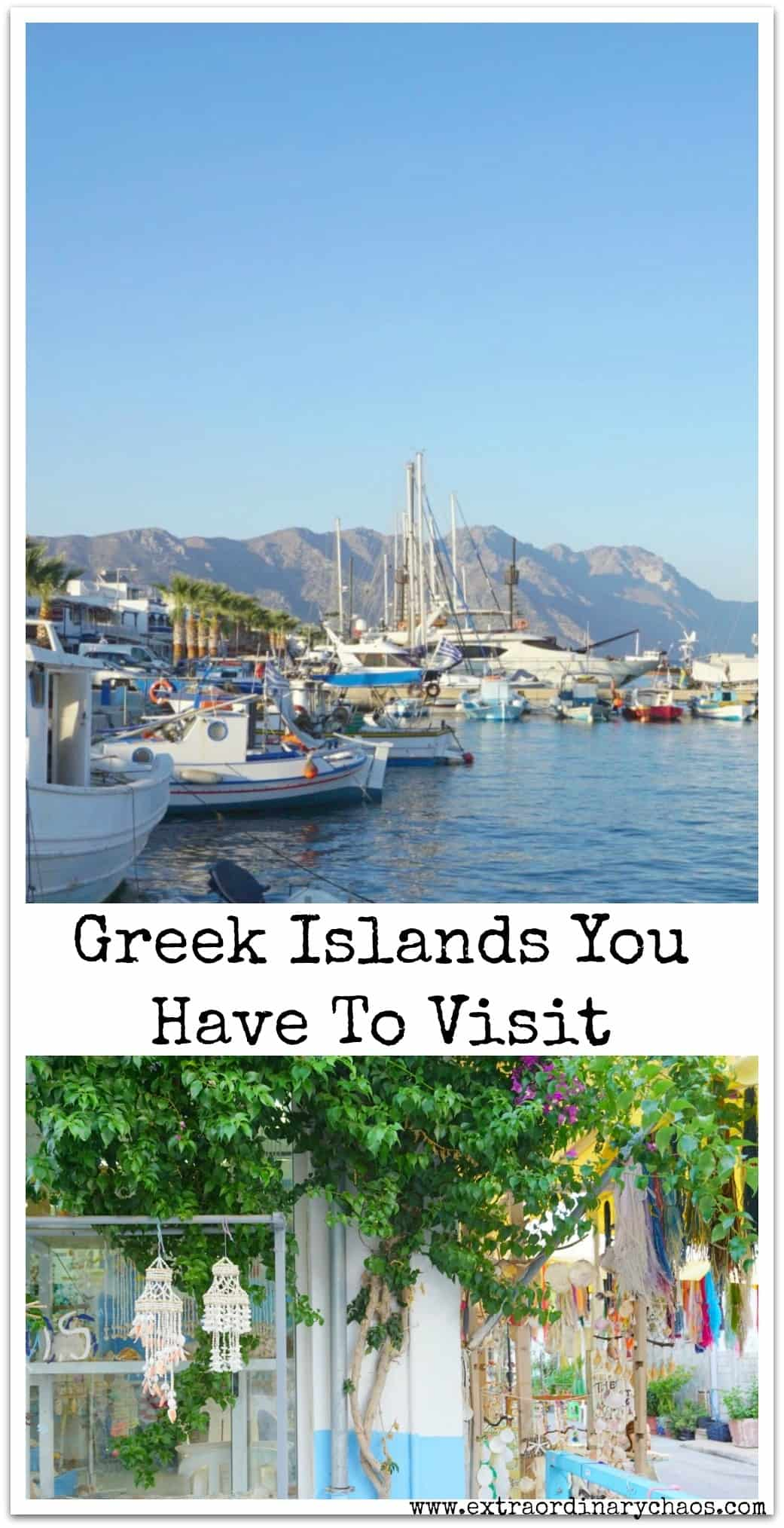 Thinking of a sailing or Island Hopping Holiday, check out thse Greek Islands you have to visit