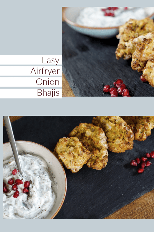 Easy Air fryer Onion Bhaji Recipe