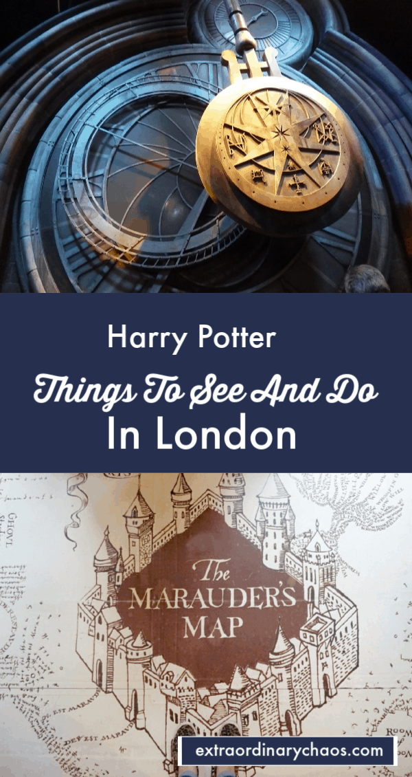Harry Potter Things To See and do when visitng London