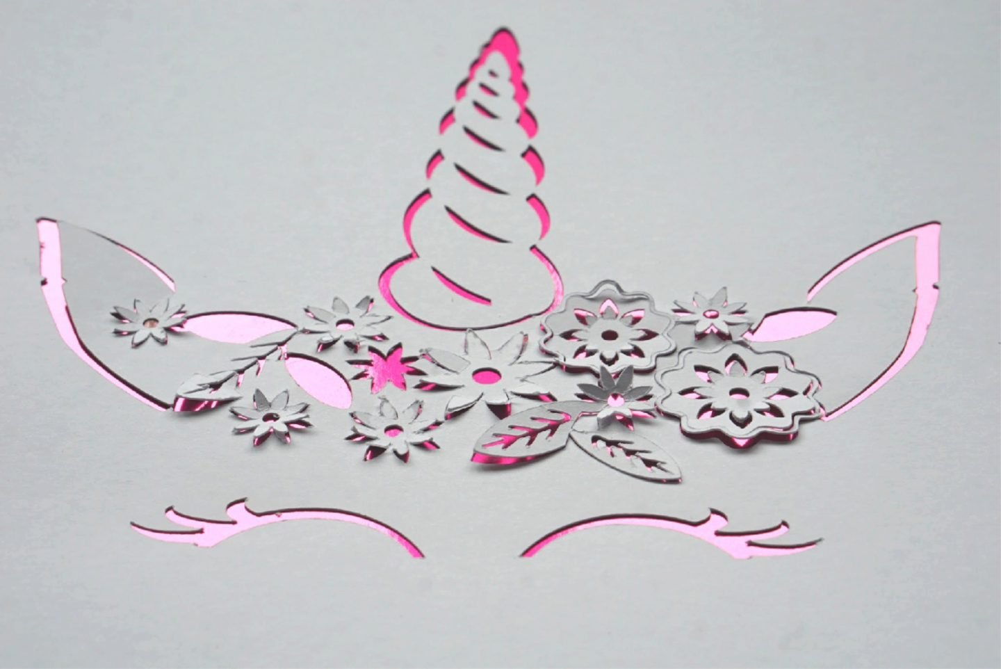 How to make a Unicorn Paper Cut With The Cricut Maker www.extraordinarychaos.com