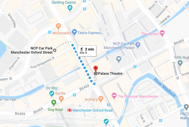 Where to park for the Opera House Manchester