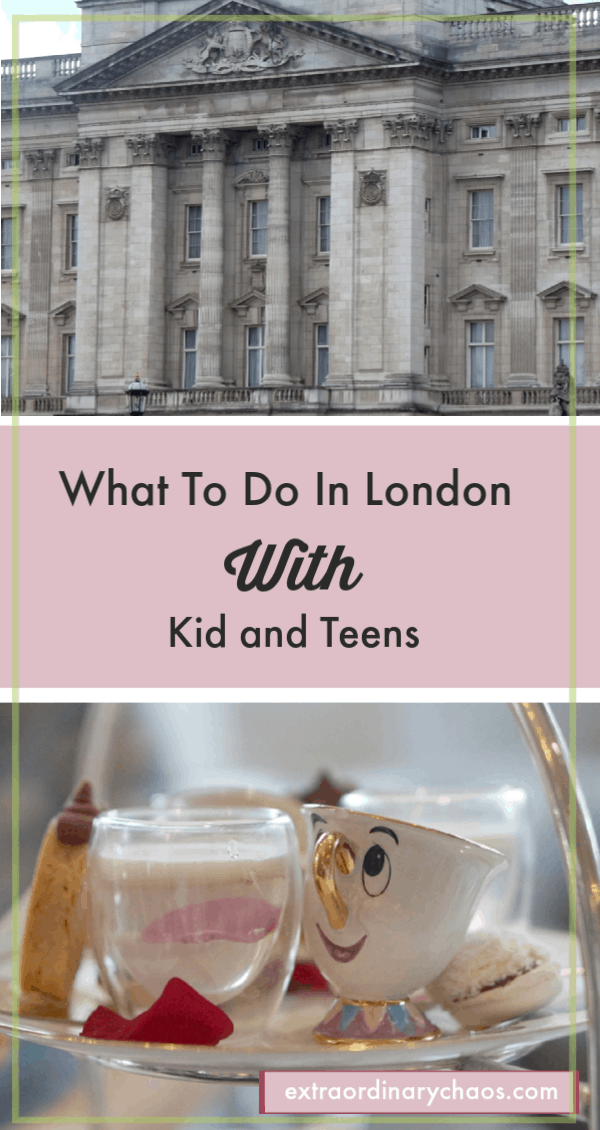 What to do on a day in London with kids and teens