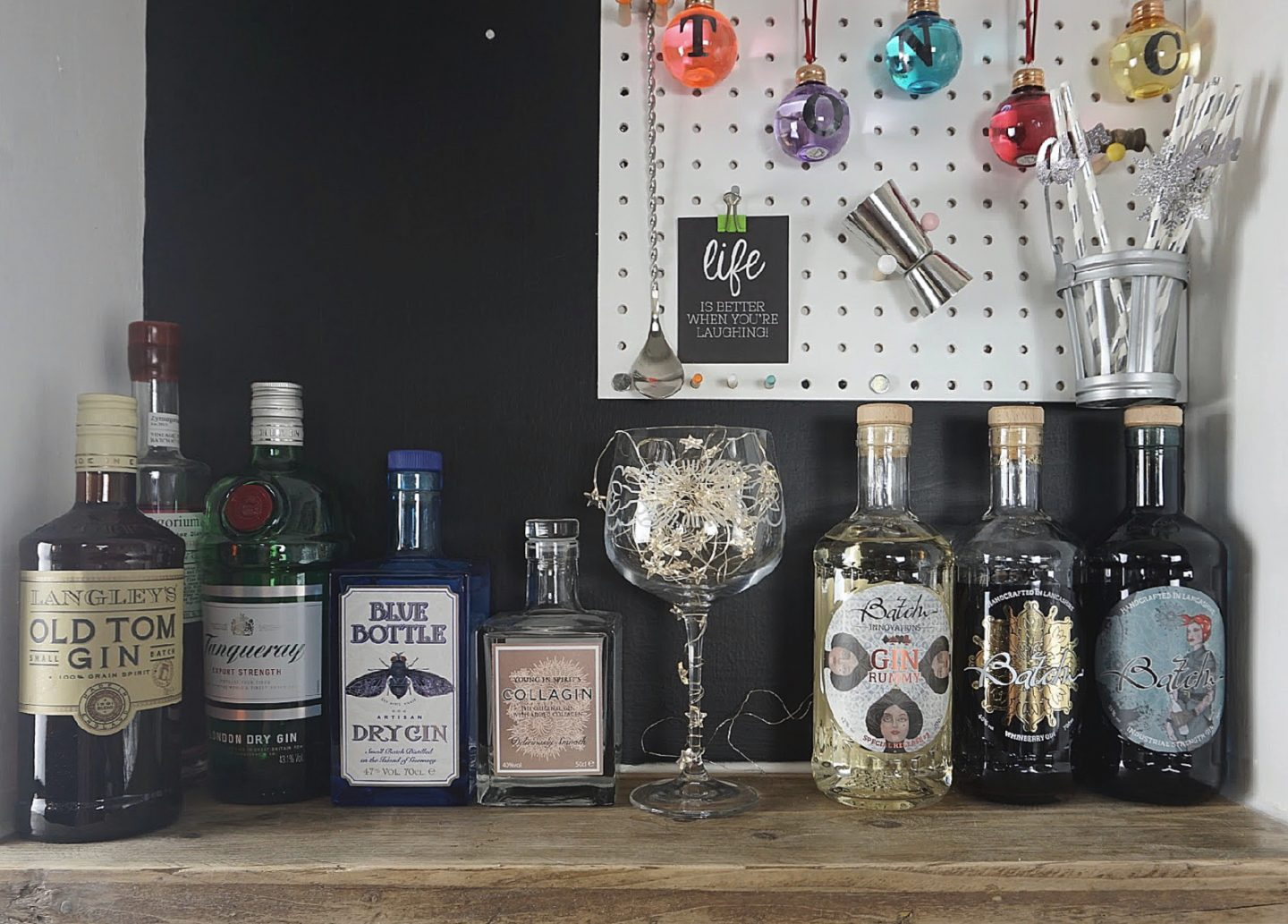 Best Gins for Christmas Gin Bar