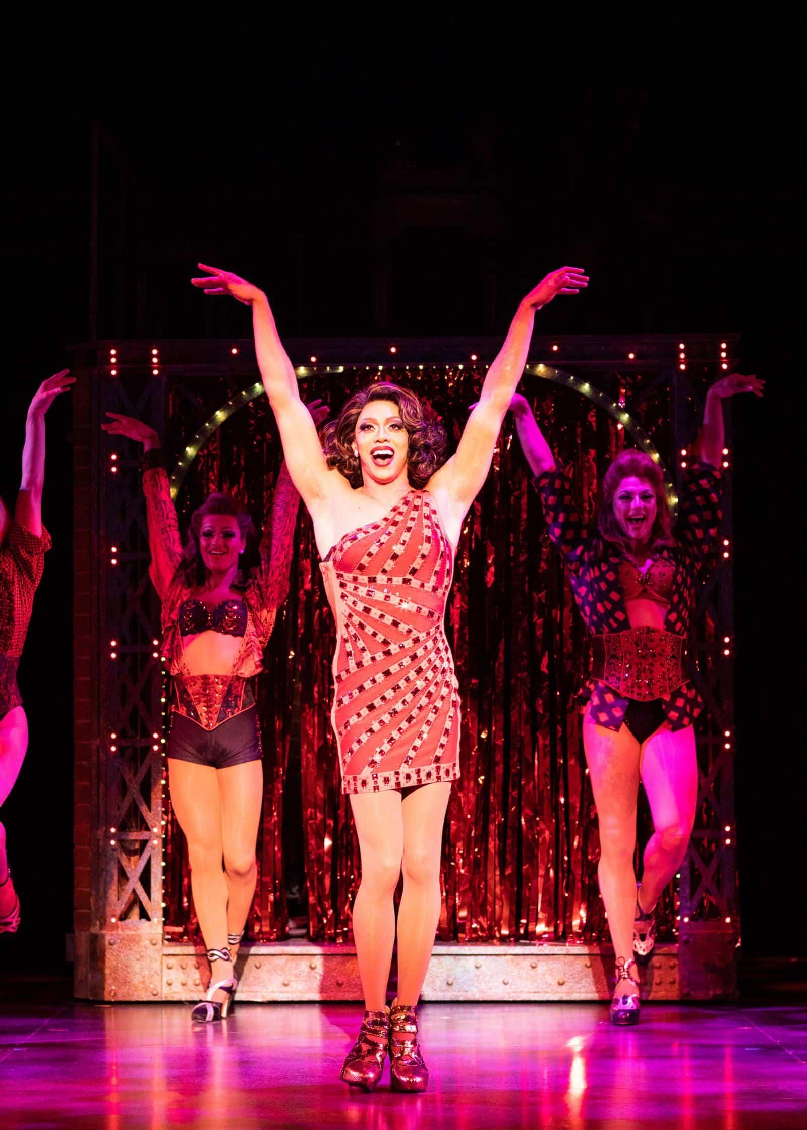 Callum Francis as Lola in Kinky Boots_Photo Helen Maybanks.