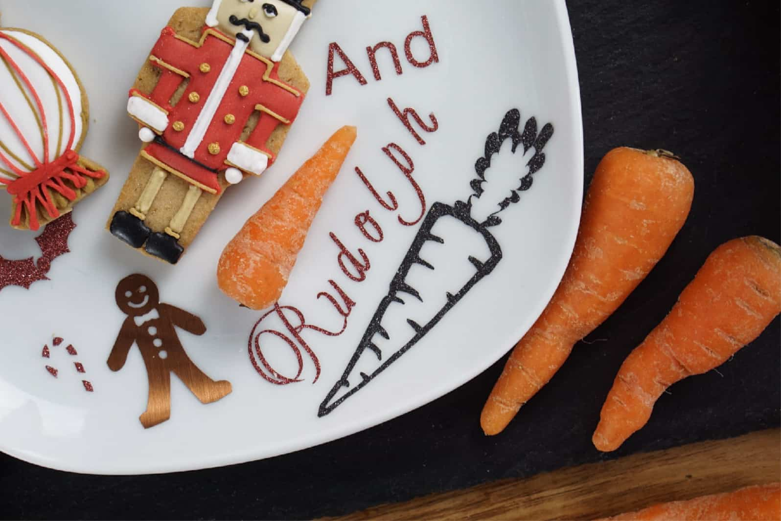 Christmas Eve Plate For Father Christmas