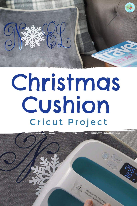 How to make a Christmas Cushion with Cricut
