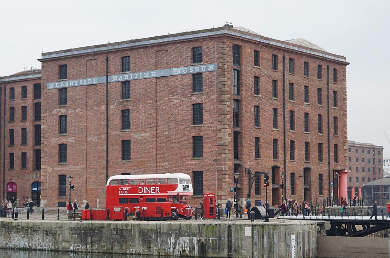 Liverpool Docks At Christmas