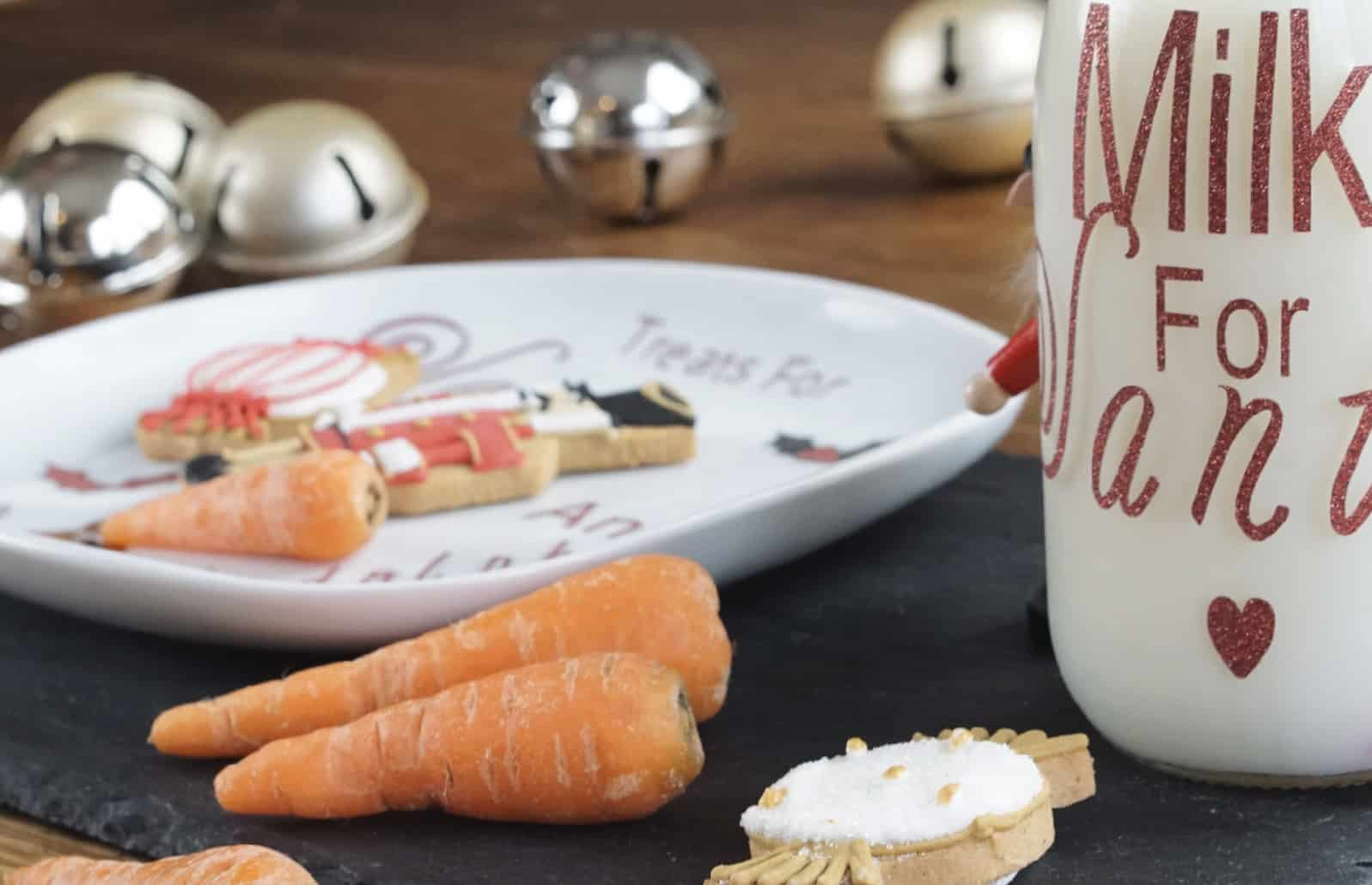 How To Make A Treats For Santa Plate And Bottle