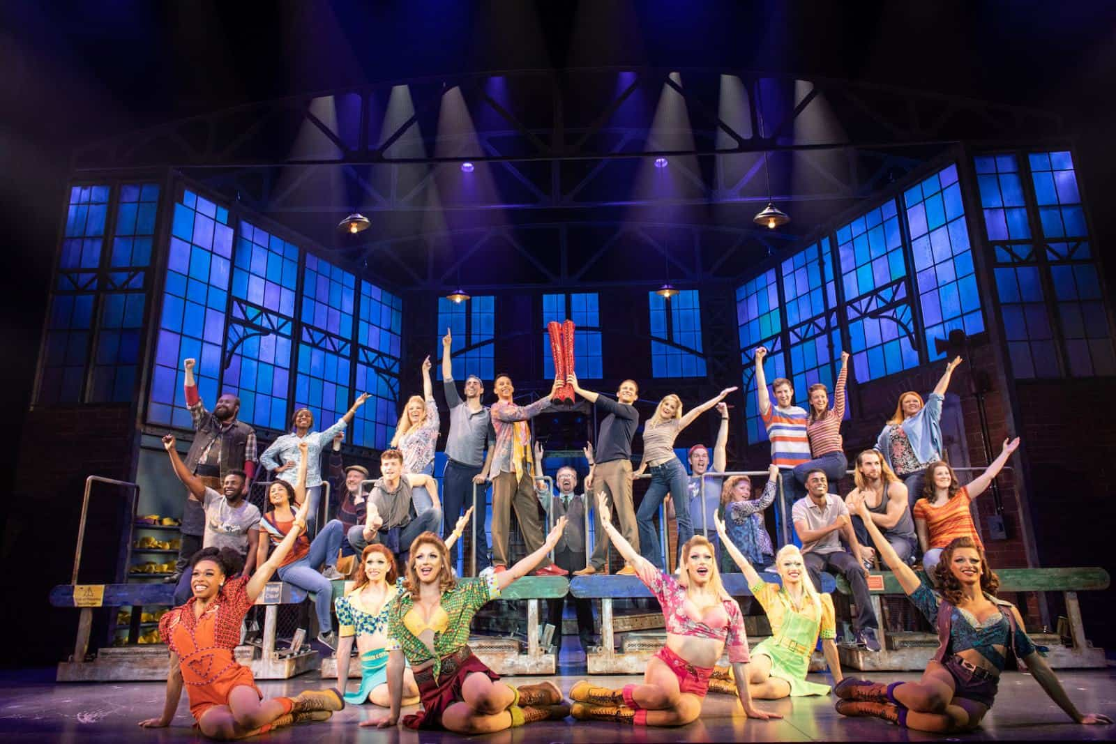 The cast of Kinky Boots_Photo Helen Maybanks
