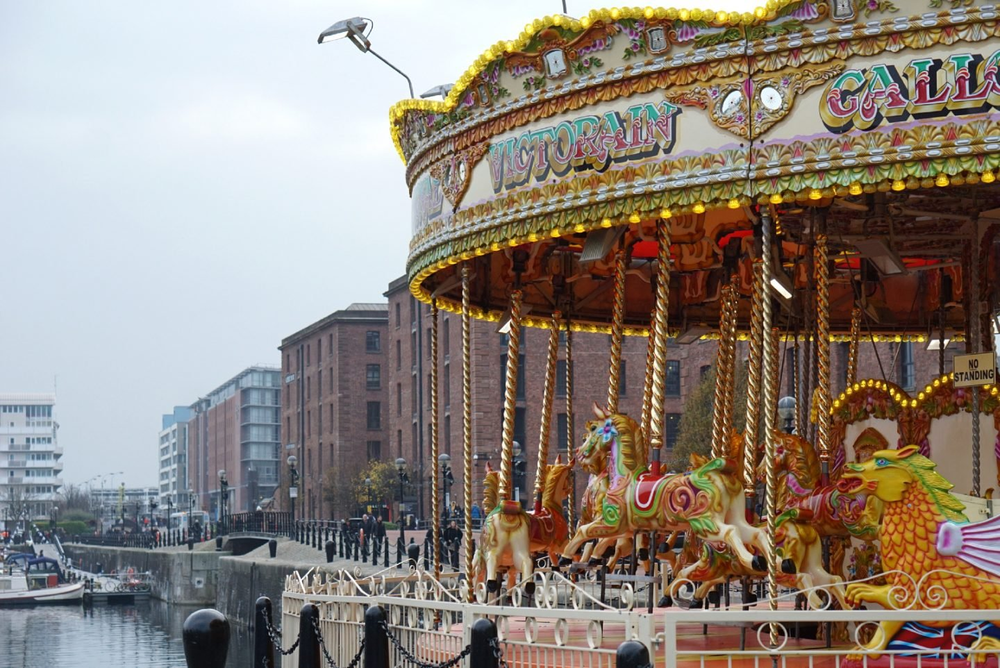 Carousel at Albert Docks Liverpool