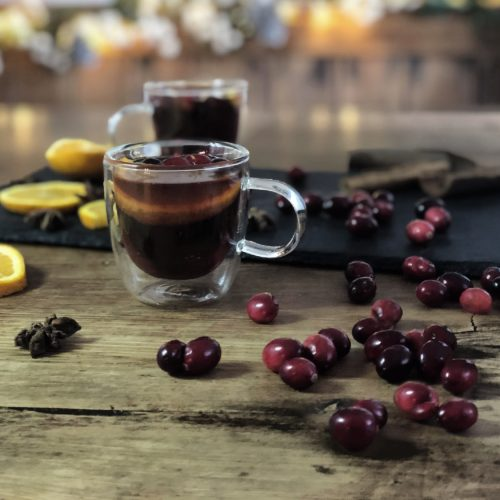 Spicy Mulled Gin