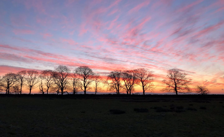 The Sunrise On Noggarth Top