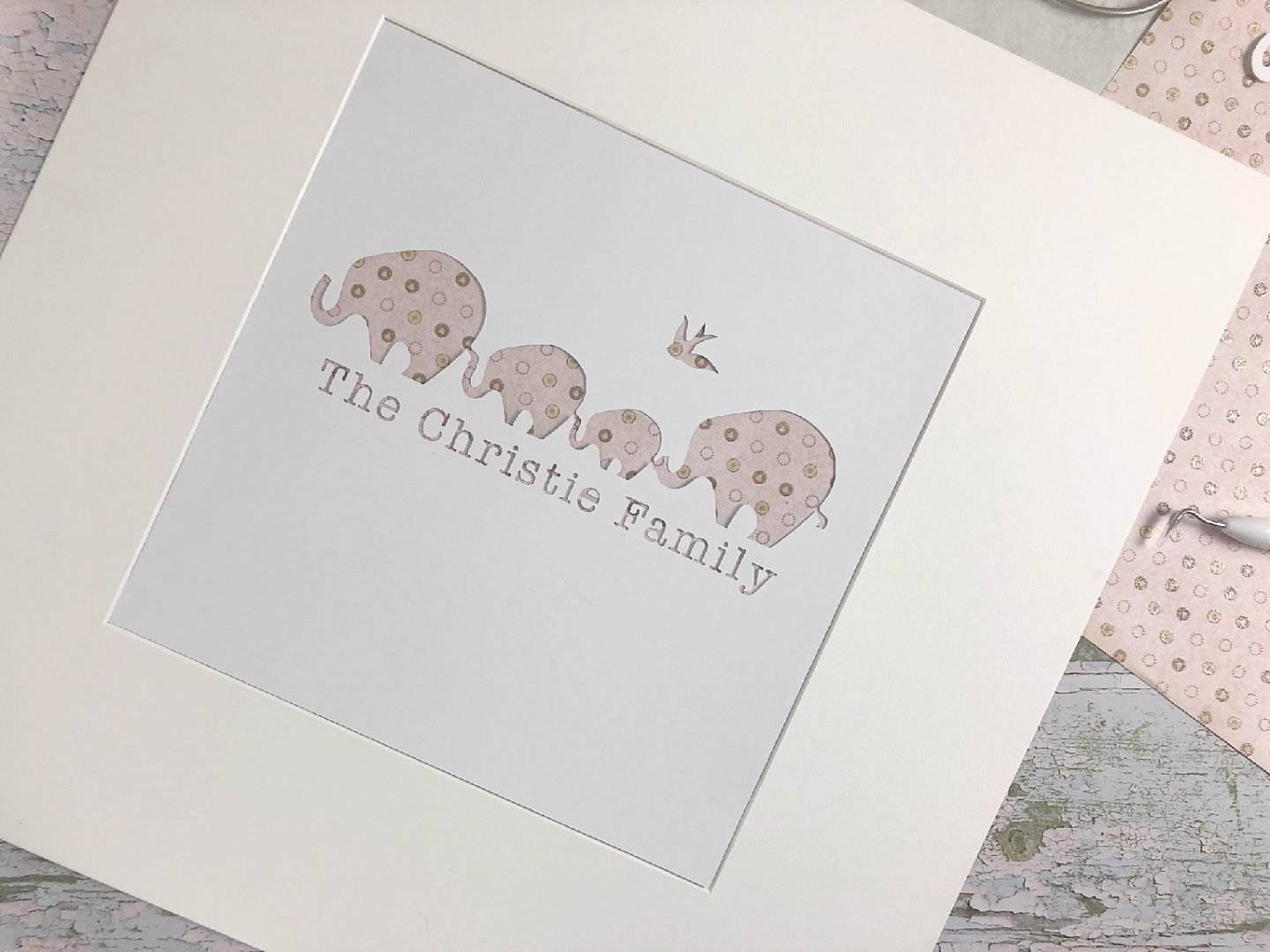 Family Paper cut With The Cricut Maker