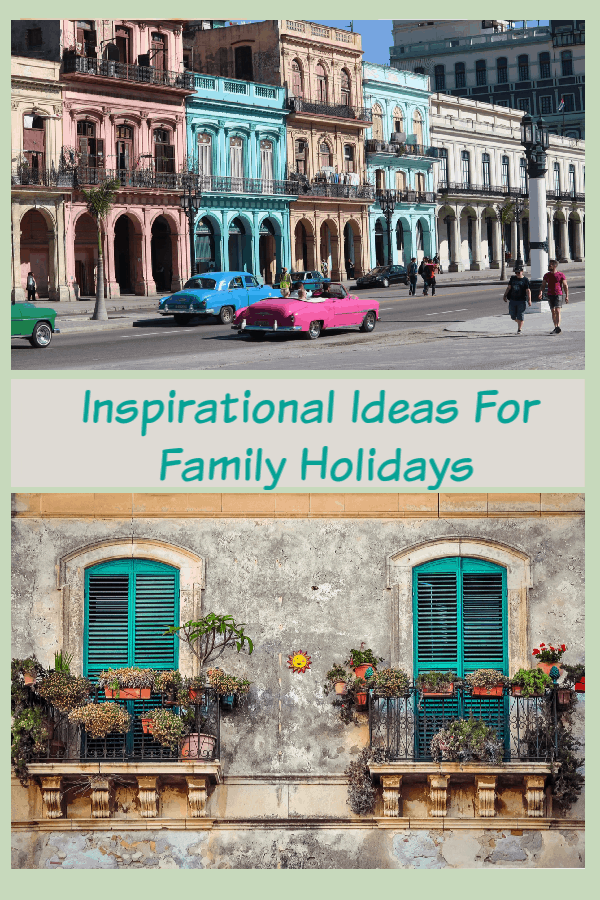 Ideas where to take your family on holiday including trips to London, family ski holidays and beaches